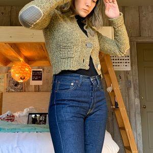Zara cropped cardigan